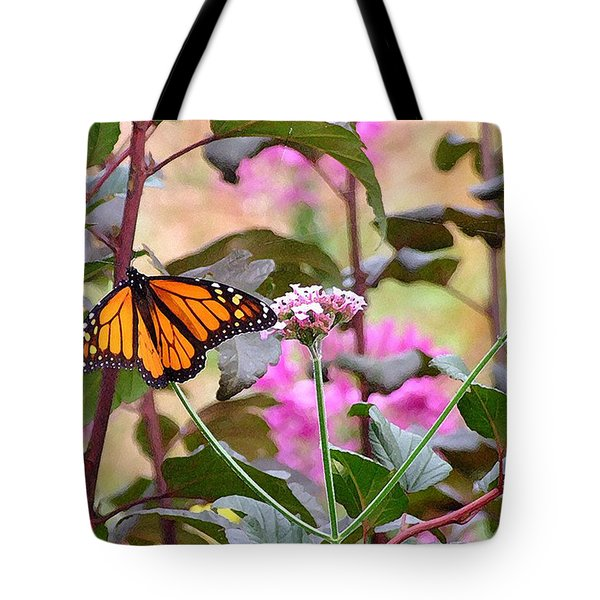 September Monarch Tote Bag