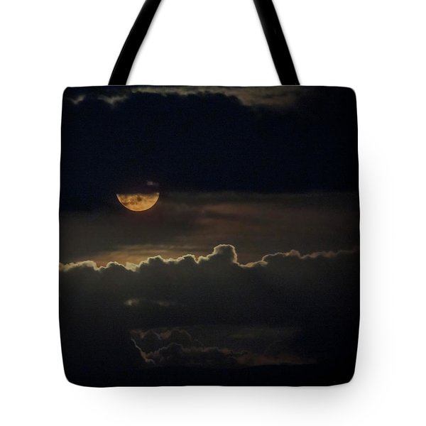 September Moon Tote Bag