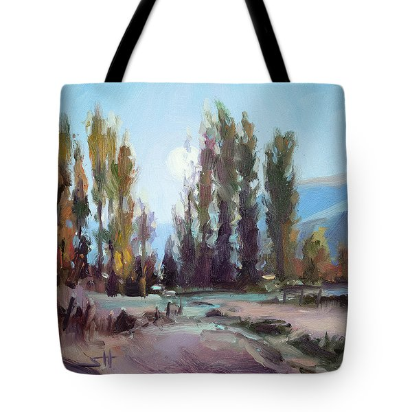 September Moon Tote Bag