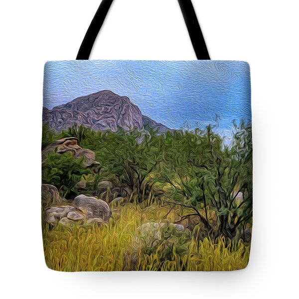 Tote Bag featuring the photograph September Oasis No.2 by Mark Myhaver