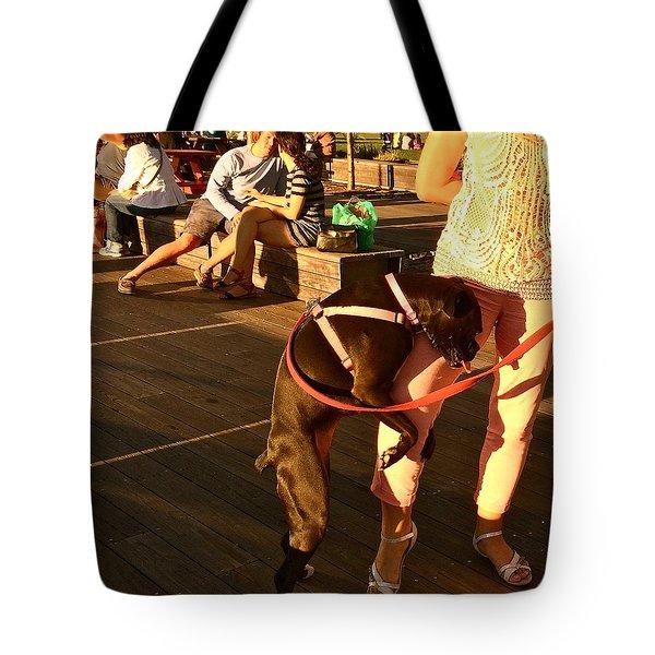 September Romance Tote Bag