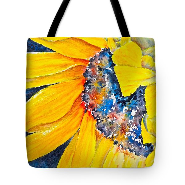 September Sunflower Tote Bag