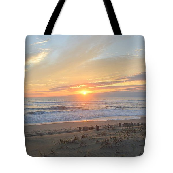 Tote Bag featuring the photograph September Sunrise  30 by Barbara Ann Bell