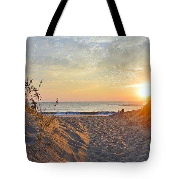 September Sunrise Tote Bag