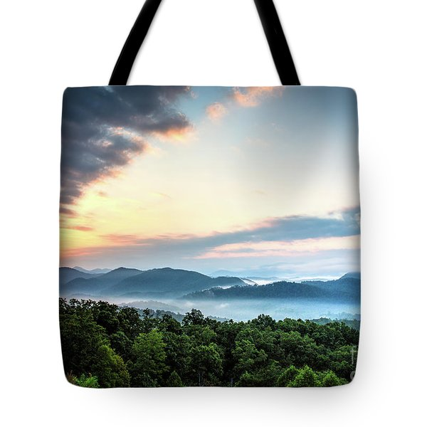 Tote Bag featuring the photograph September Sunrise by Douglas Stucky