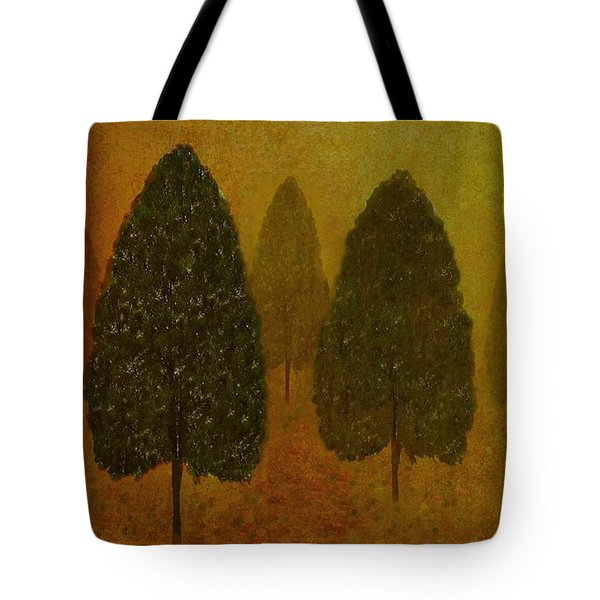 September Trees  Tote Bag by David Dehner