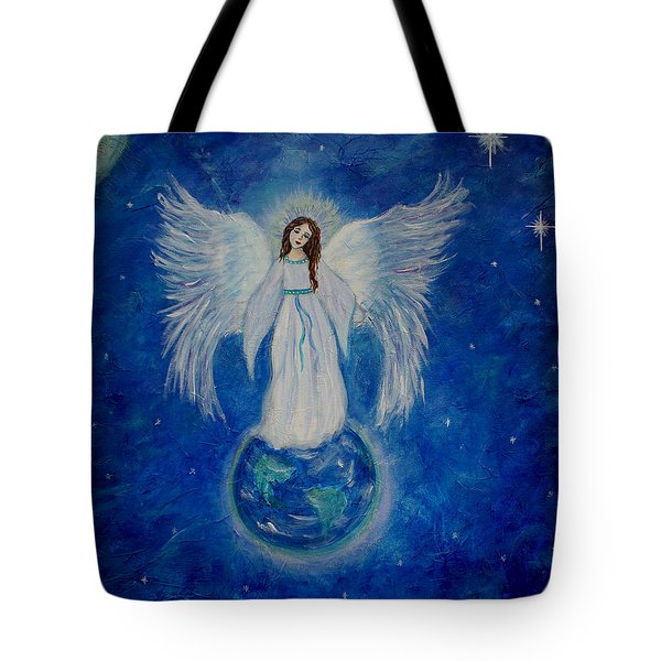 Seraphina Tote Bag by The Art With A Heart By Charlotte Phillips