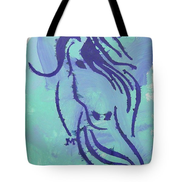 Tote Bag featuring the painting Serena by Candace Shrope