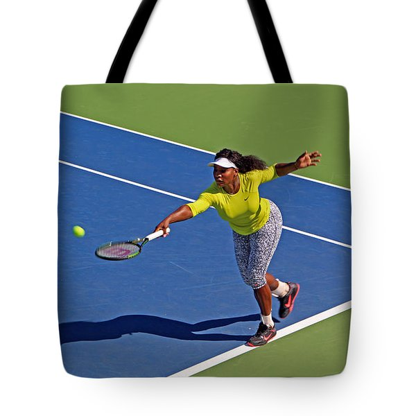 Serena Williams 1 Tote Bag by Nishanth Gopinathan