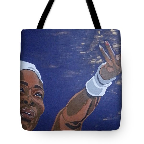 Serena Williams Tote Bag