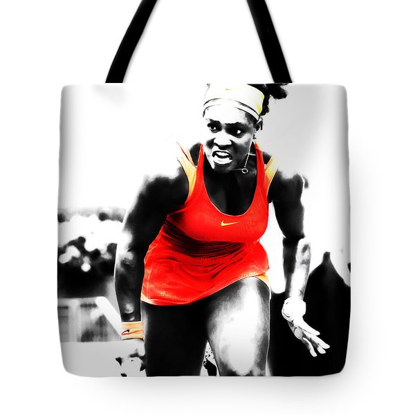 Serena Williams Go Get It Tote Bag
