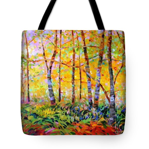 Serenade Of Forest Tote Bag