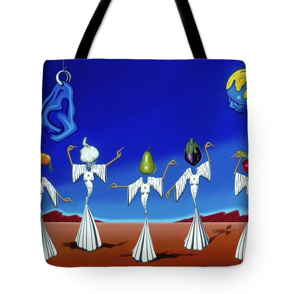 Serenade Of The Sisters Tote Bag