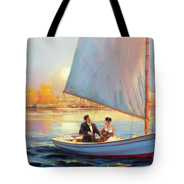 Tote Bag featuring the painting Serenade by Steve Henderson
