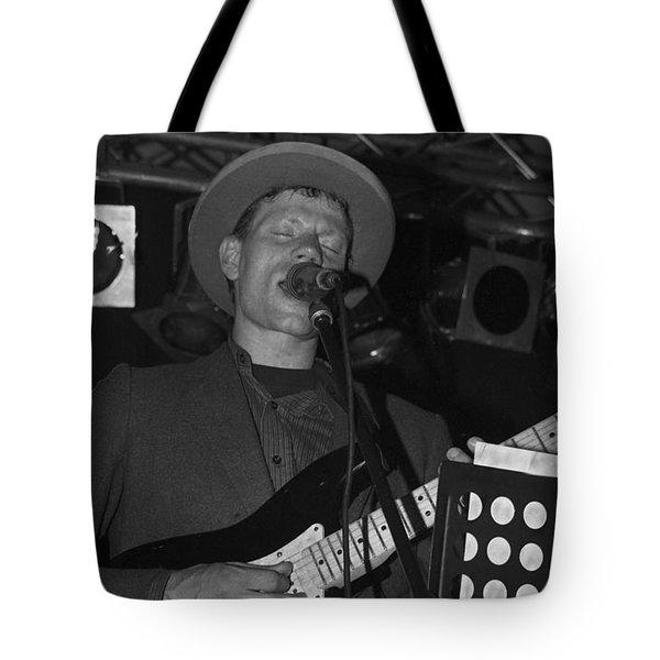 Serenading Guitar Man Tote Bag