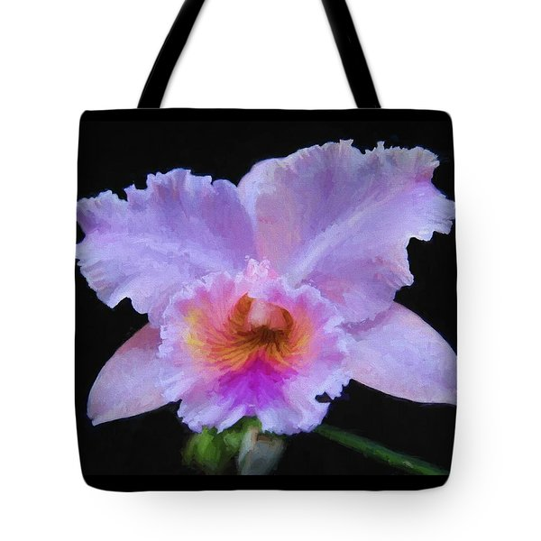Serendipity Orchid Tote Bag