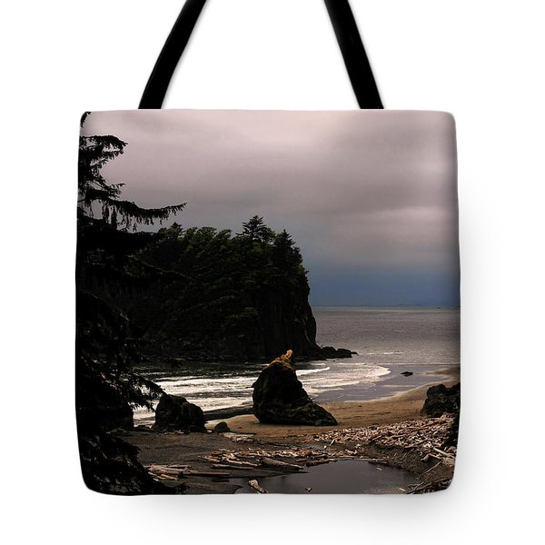 Serene And Pure - Ruby Beach - Olympic Peninsula Wa Tote Bag by Christine Till