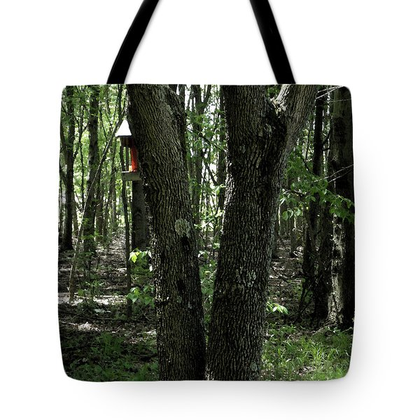 Tote Bag featuring the photograph Serene In Green by Michelle Audas