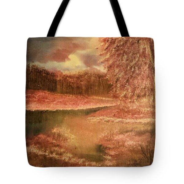 Serene Lake  Tote Bag