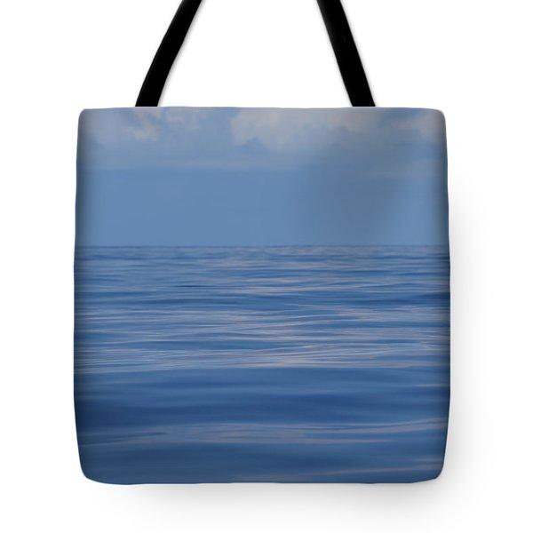 Serene Pacific Tote Bag