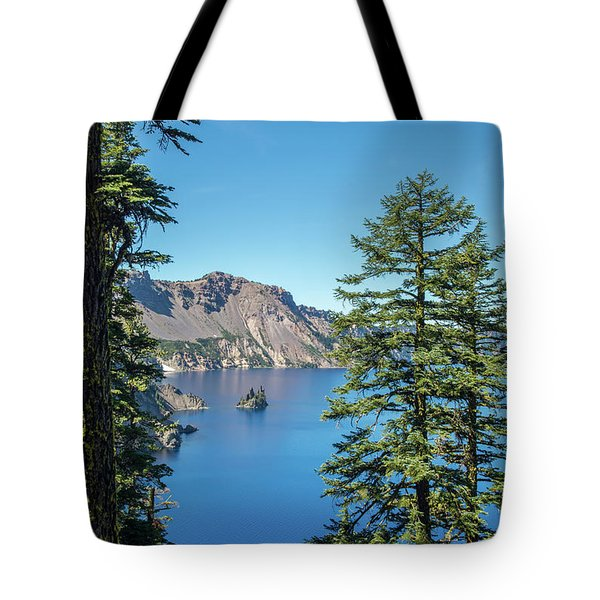 Serene Pines Tote Bag