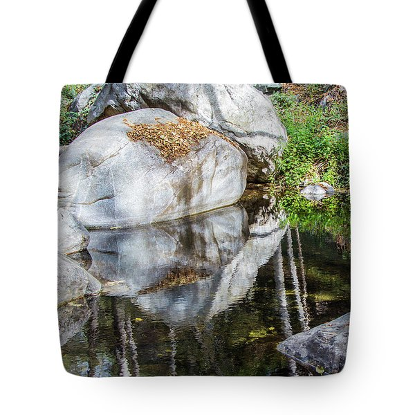 Serene Reflections Tote Bag