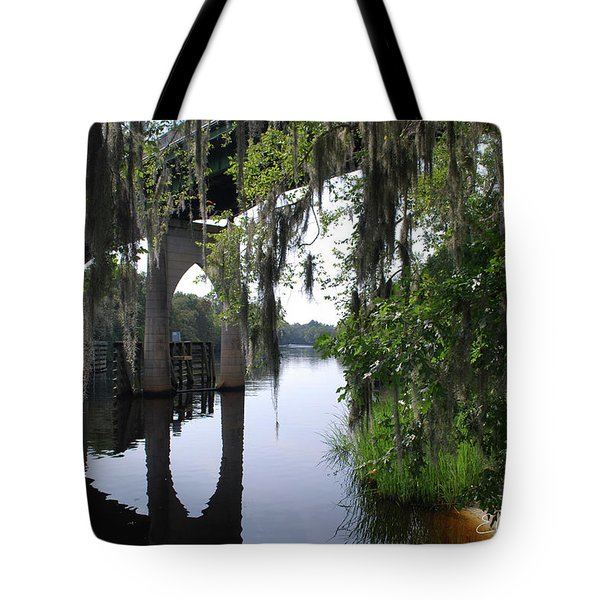 Serene River Tote Bag