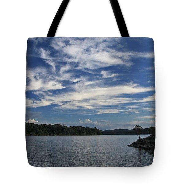 Serene Skies Tote Bag