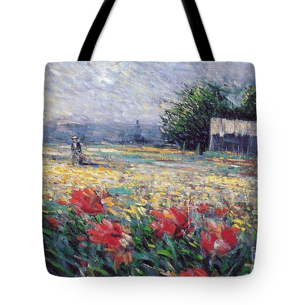 Tote Bag featuring the painting Serenety by Rosario Piazza