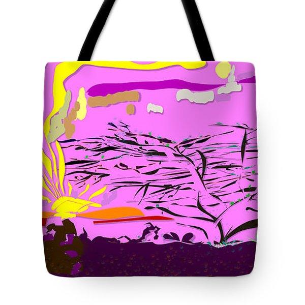 Serengeti  Tote Bag by Angela A Stanton