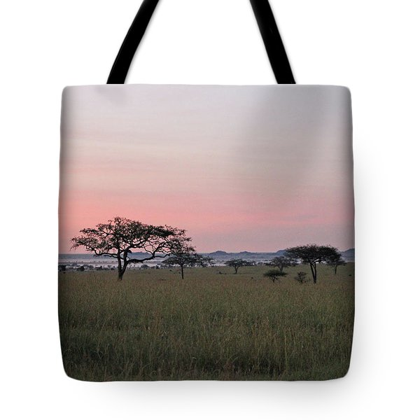 Serengeti Dawn Tote Bag