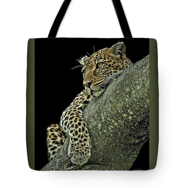 Serengeti Leopard 2a Tote Bag