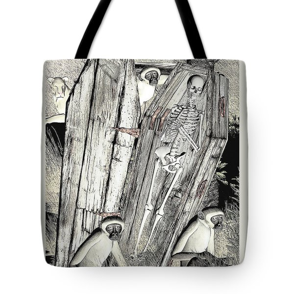 Serengeti Scavengers Tote Bag by Maynard Ellis