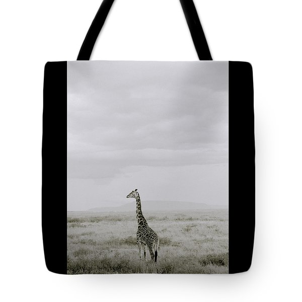 Serengeti Solitude Tote Bag by Shaun Higson