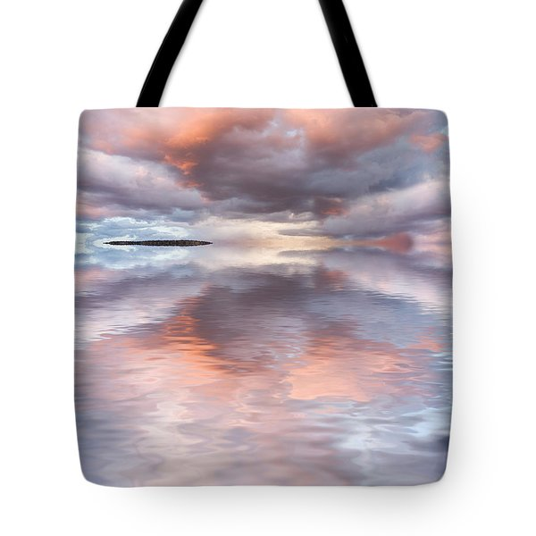 Serenity And Peace Tote Bag by Jerry McElroy