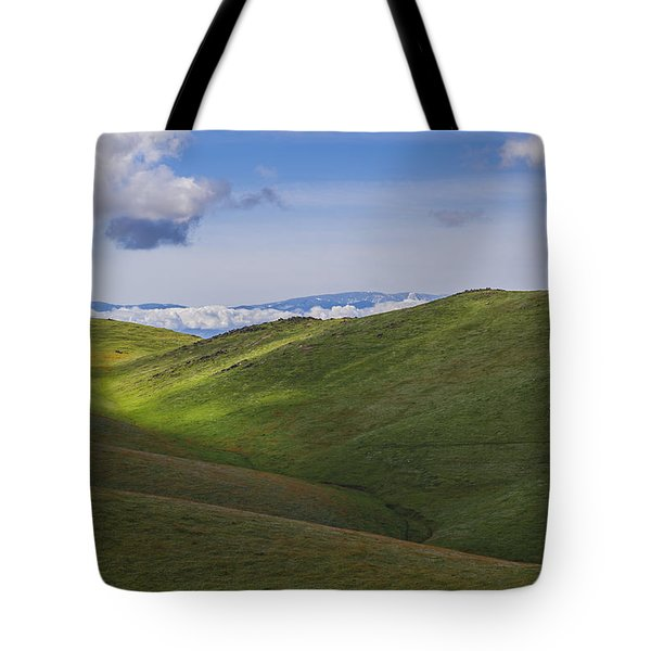 Serenity And Peace Tote Bag by Marta Cavazos-Hernandez
