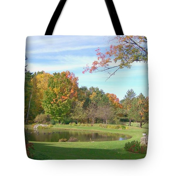 Tote Bag featuring the digital art Serenity by Barbara S Nickerson