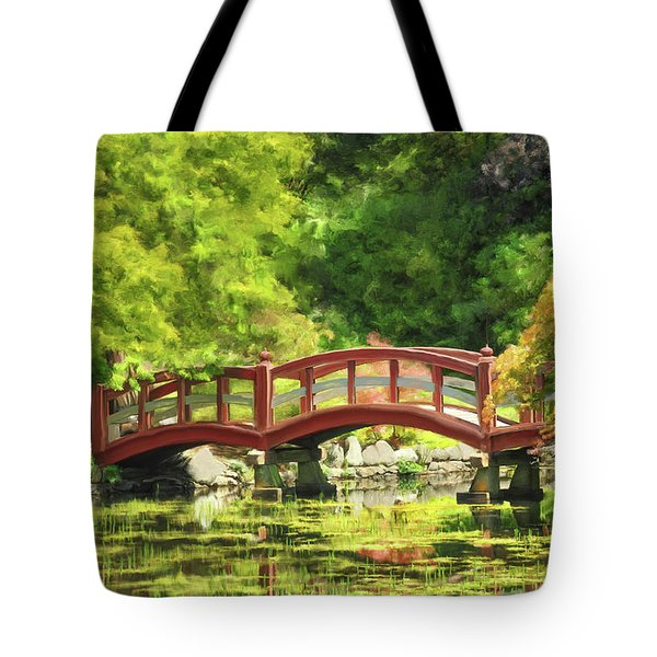 Serenity Bridge II Tote Bag