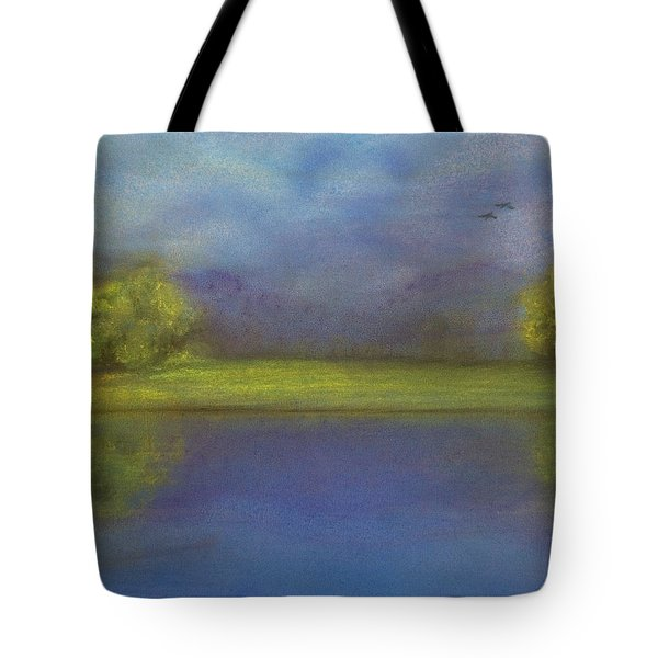 Serenity By The Water Tote Bag