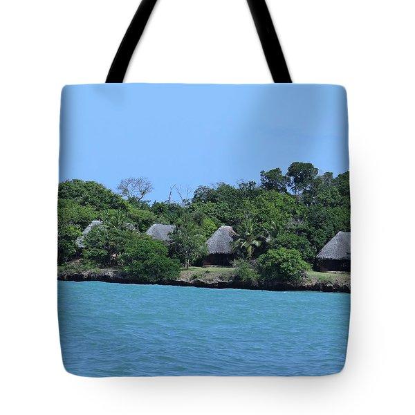 Serenity - Chale Island Kenya Africa Tote Bag