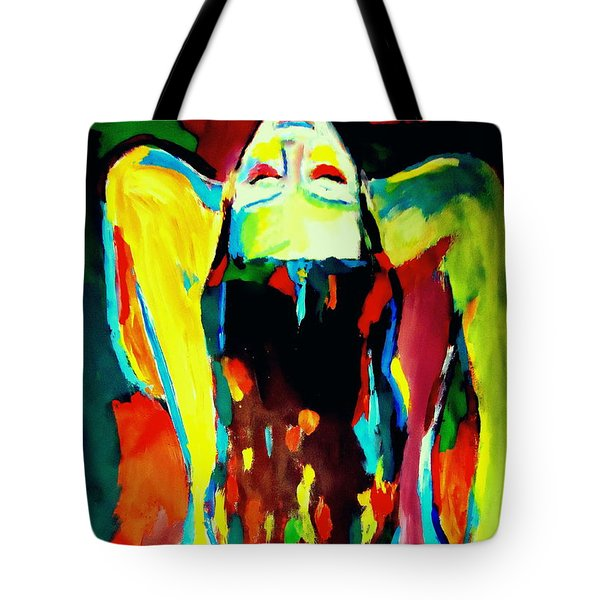 Tote Bag featuring the painting Serenity by Helena Wierzbicki