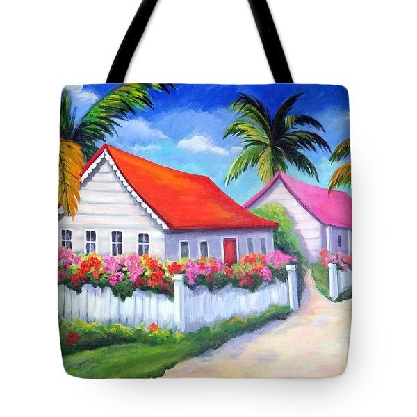Serenity In Paradise Tote Bag