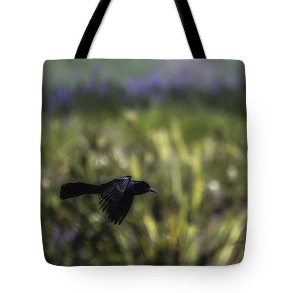 Tote Bag featuring the photograph Serenity In The Marshes by Mary Lou Chmura
