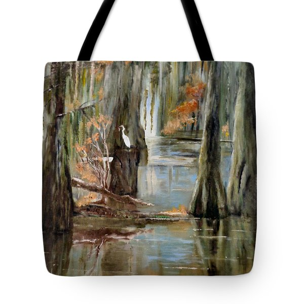 Serenity In The Swamp Tote Bag