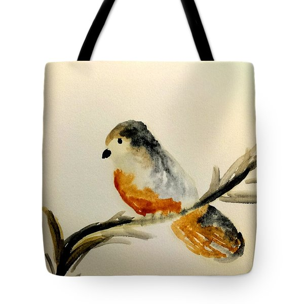 Tote Bag featuring the painting Serenity by Lou Belcher