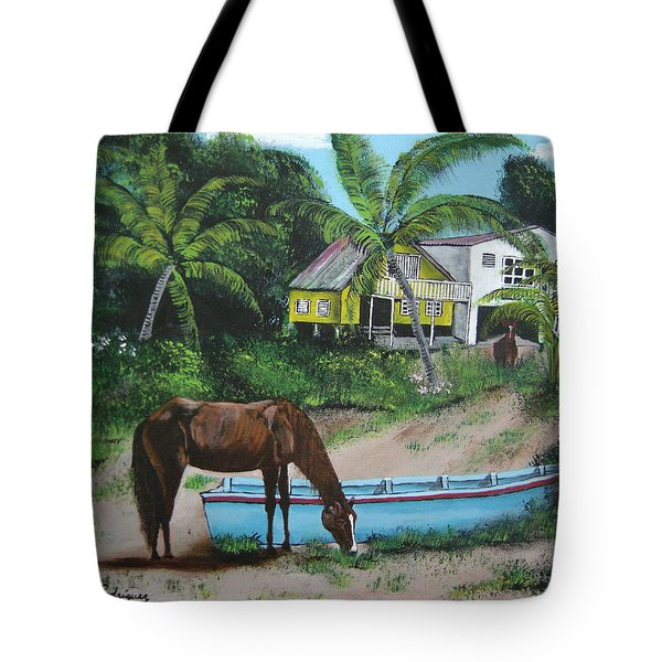 Serenity Tote Bag by Luis F Rodriguez
