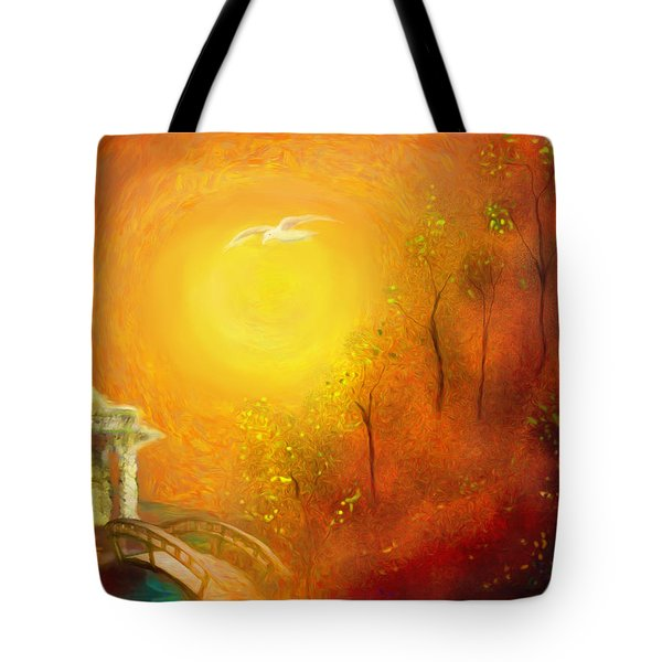 Serenity Tote Bag by Michael Cleere