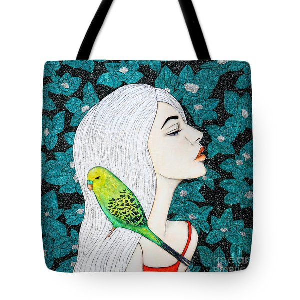 Serenity Tote Bag by Natalie Briney