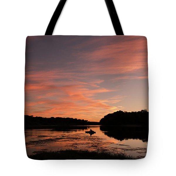 Serenity Tote Bag by Nicki McManus