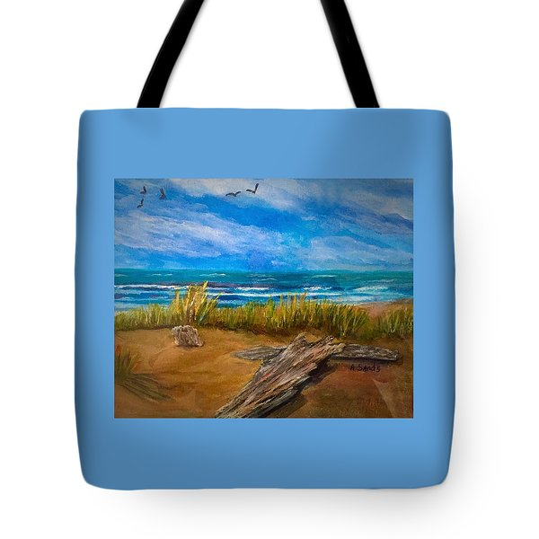Serenity On A Florida Beach Tote Bag